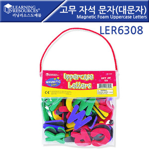 러닝리소스[LER6308] 고무자석문자(대문자)